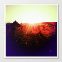 Canvas Print featuring FESTIVAL by SABOTAGE