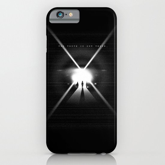 The truth is out there iPhone & iPod Case