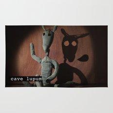 cave lupum II Rug