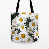 Daisy Blooms Tote Bag
