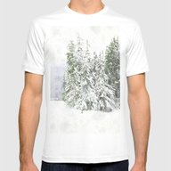 Winter Fresh Mens Fitted Tee White SMALL