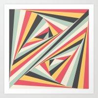 Twiangle Art Print