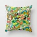 D Pattern  Throw Pillow