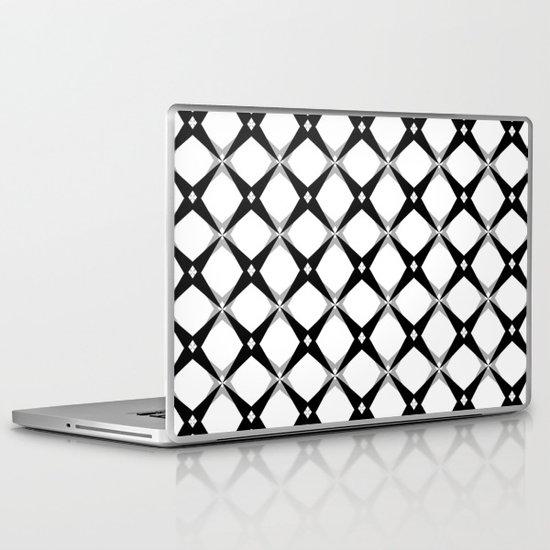 BW Pattern (Stars) Laptop & iPad Skin