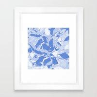 BlueMING Blue Framed Art Print