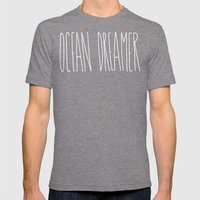 Ocean Dreamer Mens Fitted Tee Tri-Grey SMALL