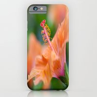iPhone & iPod Case featuring Yellow Hibiscus by Creativemind06
