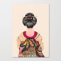 Japanese - Original  Canvas Print