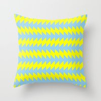 Van Zanen Yellow & Blue Throw Pillow