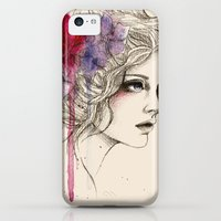 iPhone 5c Cases featuring Water Flowers by Sabrina Eras