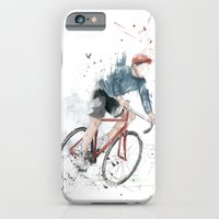 iPhone & iPod Case featuring I want to ride my bicycle by Balazs Solti