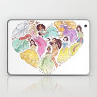 I Heart Princesses Laptop & iPad Skin