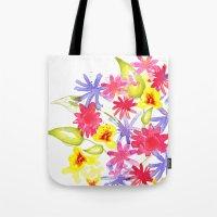 Fresh Flowers Tote Bag