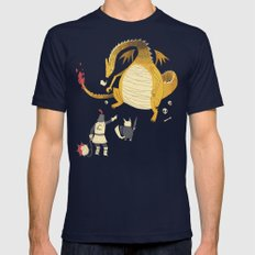 ye hath to catcheth them all. Mens Fitted Tee Navy SMALL