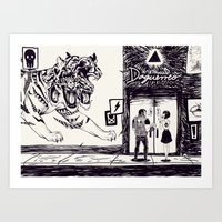 Daguerreo Art Print