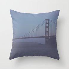 Golden Gate at Nightfall  Throw Pillow
