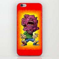 Not Enough Mouths To Scream It Out iPhone & iPod Skin