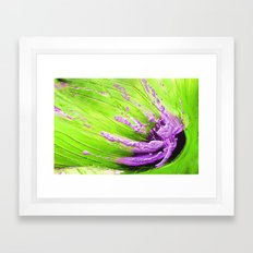 Abstract on Canvas Framed Art Print