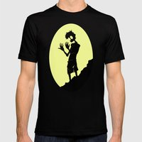 Hazel Mens Fitted Tee Black SMALL
