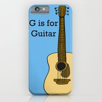 G Is For Guitar iPhone 6 Slim Case