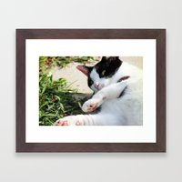 egad! Framed Art Print