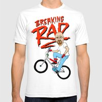 Breaking Rad Mens Fitted Tee White SMALL