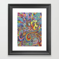 Take A Trip With Me Framed Art Print