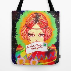 Don't forget to write to Santa Claus Tote Bag