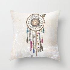 Lakota (Dream Catcher) Throw Pillow