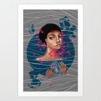 Cold As Heart Art Print