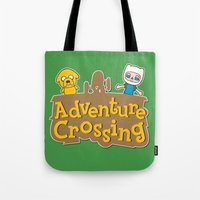 Adventure Crossing Tote Bag
