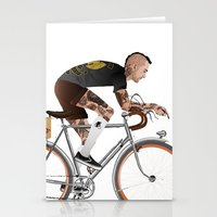 Bike Driver Stationery Cards