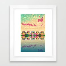 owl-894 Framed Art Print