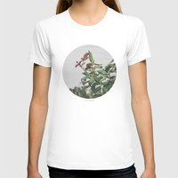 Rose Hips Womens Fitted Tee White SMALL