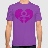 A Prince Has Fallen  |  Tribute Mens Fitted Tee Ultraviolet SMALL