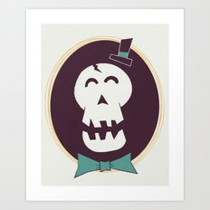 Fancy Bones Art Print