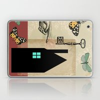The House With The Turquoise Light On No.2 Laptop & iPad Skin