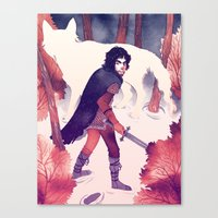 North Of The Wall Canvas Print