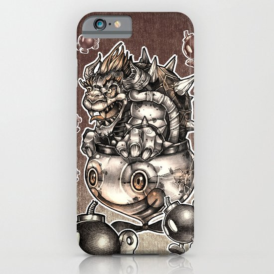 BOMBS AWAY BOWSER iPhone & iPod Case