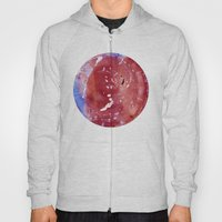 Red Fantasy Planet Hoody
