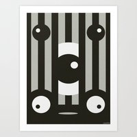 VAUDEVILLE Art Print
