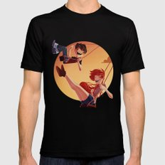 With You Mens Fitted Tee Black SMALL