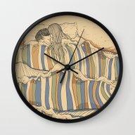 Ocean Of Love Wall Clock