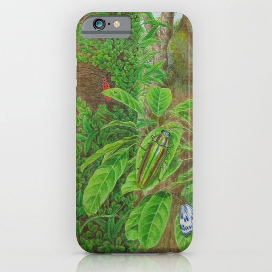 A Day of Forest (3). (Observe the tree) iPhone & iPod Case