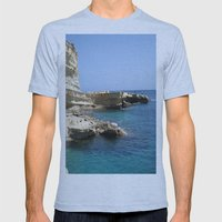 Rocks Mens Fitted Tee Athletic Blue SMALL