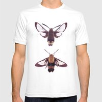 Snowberry Clearwings Mens Fitted Tee White SMALL