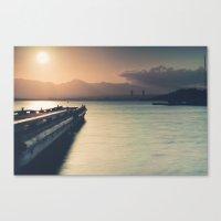 Summertime Feeling (Dock… Canvas Print