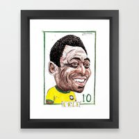 PELE Framed Art Print