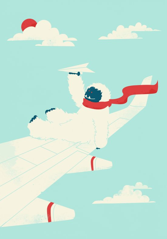 Paper Airplane Art Print