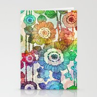 Hanging Flower Garland #2 Stationery Cards